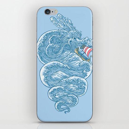 hello little dragon iPhone & iPod Skin