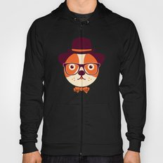 Hipster Dog Hoody