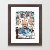 Breaking Bad: The Good, … Framed Art Print