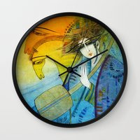 No one can stop my dream horses... Wall Clock