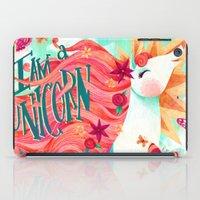I AM A UNICORN iPad Case