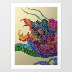 Auspicious Art Print