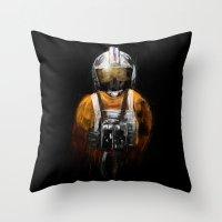Pilot 03 Throw Pillow