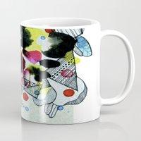 Hanging worlds  Mug