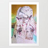 G A I N Art Print