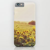 iPhone & iPod Case featuring Sunflowers by Heather Lockwood