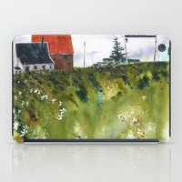 houses at the Cap iPad Case