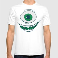 Bob Face Mens Fitted Tee White SMALL