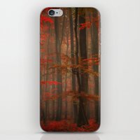 Enchanting Red iPhone & iPod Skin