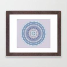 Inspirational Mandala Framed Art Print