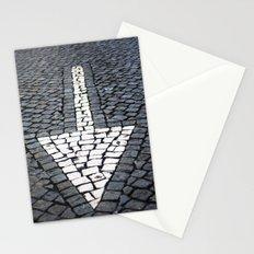 street arrow Stationery Cards