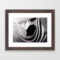 Paper Sculpture #4 Framed Art Print