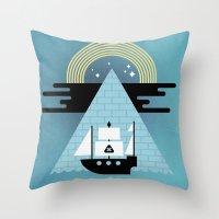 Born to Explore Pt4 Throw Pillow