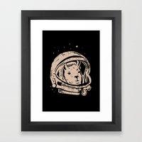 Astrollama Framed Art Print
