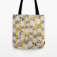 Pineapple Sunshine Yello… Tote Bag