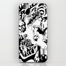 Doktor Steampug- Black and White iPhone & iPod Skin