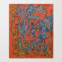 Electron Cloud Nine Canvas Print