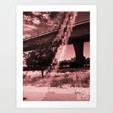Natural Distortion Art Print