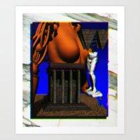 Awake Next 2 U Art Print