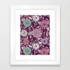 Floral Pattern #48 Framed Art Print