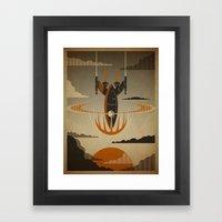 The Return Framed Art Print