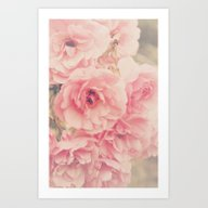 Roses In The Park Art Print