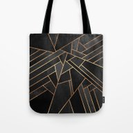 Black Night Tote Bag