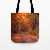 Autumns Passage Tote Bag