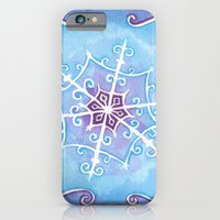 Watercolor Snowflake iPhone 6 Slim Case