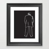 I Got Your Back Framed Art Print