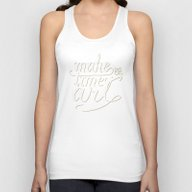 Make Time For Art Unisex Tank Top