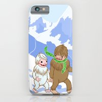 iPhone & iPod Case featuring Snow Day! by Theresa Flaherty