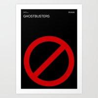 Poster Nintendo Ghostbusters Art Print