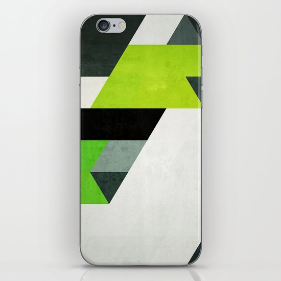 dyne wyth iPhone & iPod Skin