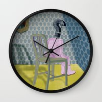 In The Dog House. Questi… Wall Clock