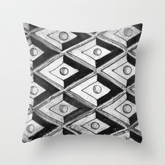 Tiling with pattern 2 Throw Pillow