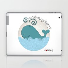 I {❤} Whale Laptop & iPad Skin