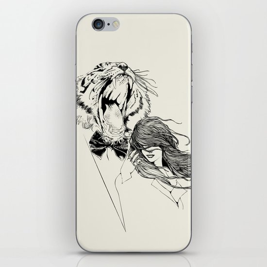 The Tiger's Roar iPhone & iPod Skin