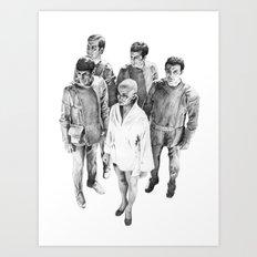 Star Trek - Let's see V'ger Art Print