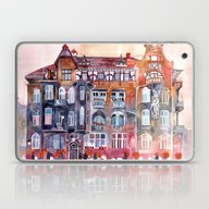 Laptop & iPad Skin featuring Apartment House In Pozna… by Takmaj