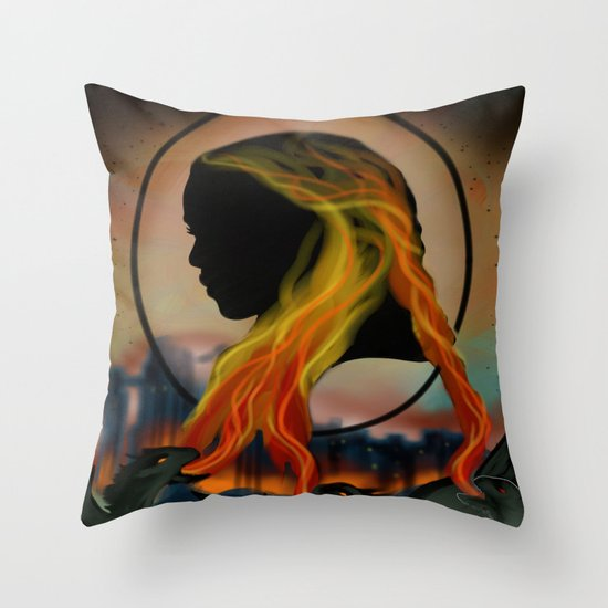 Daenerys Throw Pillow