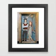 Unrequited Love In An El… Framed Art Print