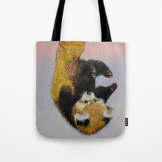 Red Panda Cub Tote Bag