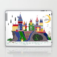 Pop Art Hogwarts Laptop & iPad Skin