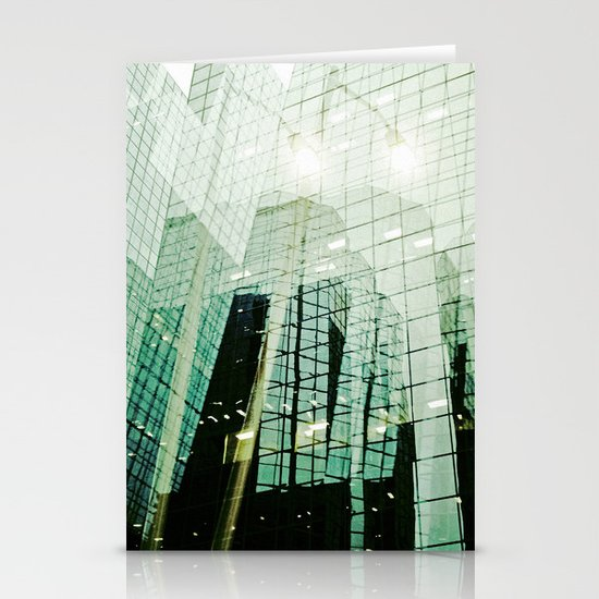'DOWNTOWN' Stationery Card