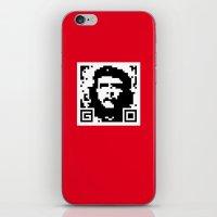 QR- Che iPhone & iPod Skin