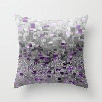 :: Purple-Rain Compote :… Throw Pillow