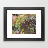 A Strict Code for Mourning Flowers (1) Framed Art Print