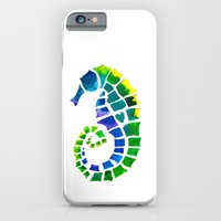 iPhone & iPod Case featuring Seahorse Love by Catherine Holcombe