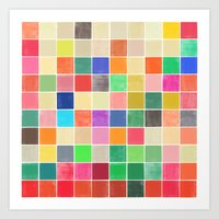 Colorquilt 2 Art Print